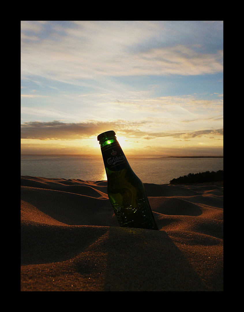 Beer on Sunset