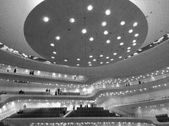 before the concert in the elbphilharmonie