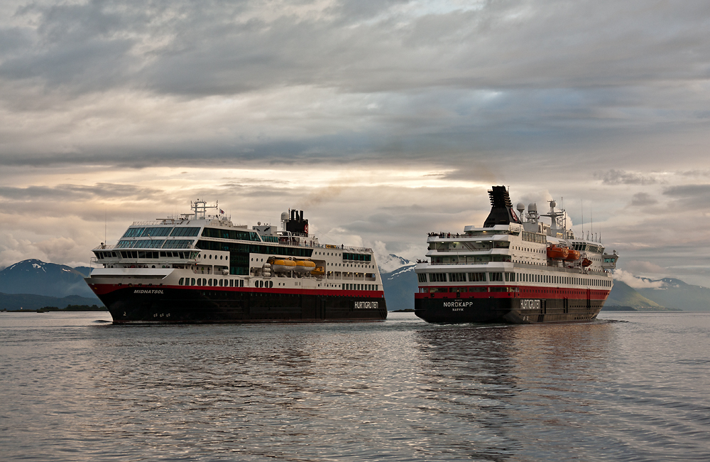 Begegnung im Romsdalfjord