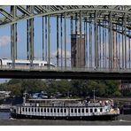Begegnungen - Köln - Hohenzollernbrücke/Rhein - 30.09.2006/13:10 Uhr
