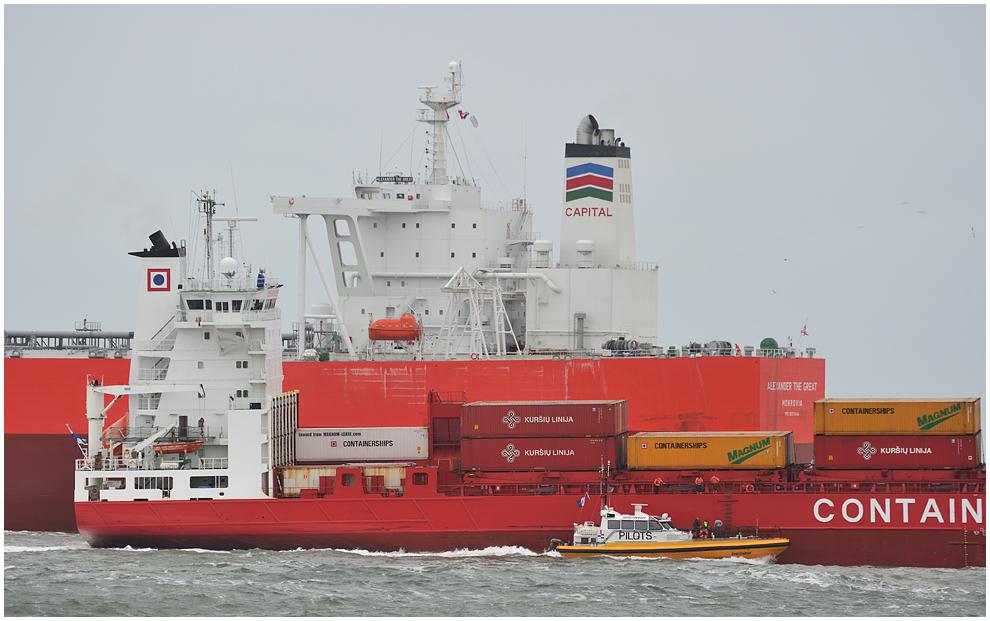 Begegnungen vor Rotterdam