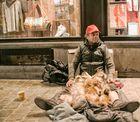 begging in Brussels