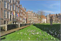 Begijnhof Amsterdam...