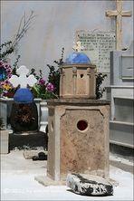 . . . begraben auf santorin [2] . . . in häusern, kirchen gleich . . .
