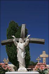 . . . begraben auf santorin [8] . . . christus am kreuz . . .