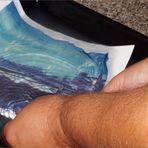 behaarter Arm beim Emolsionslift :)