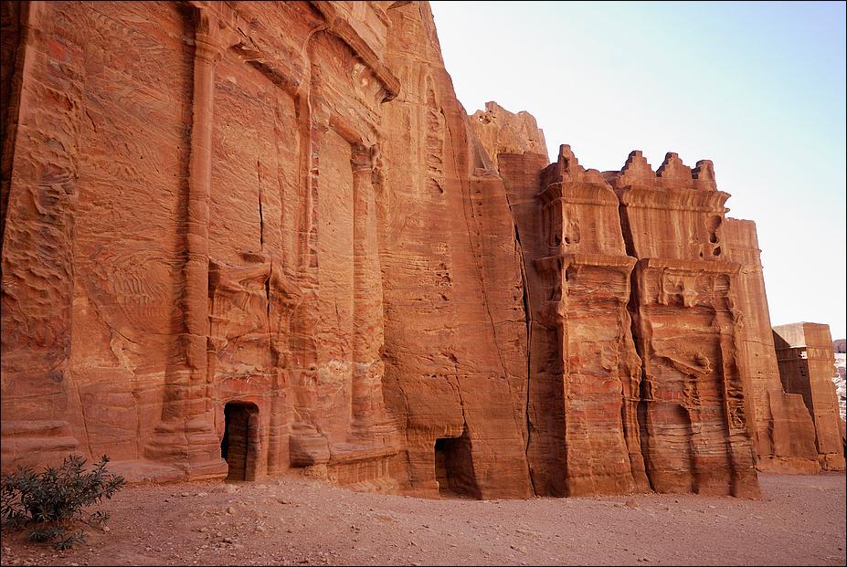 Behauen und verwittert (4), Petra - Jordanien