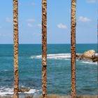 Behind bars - Caesarea