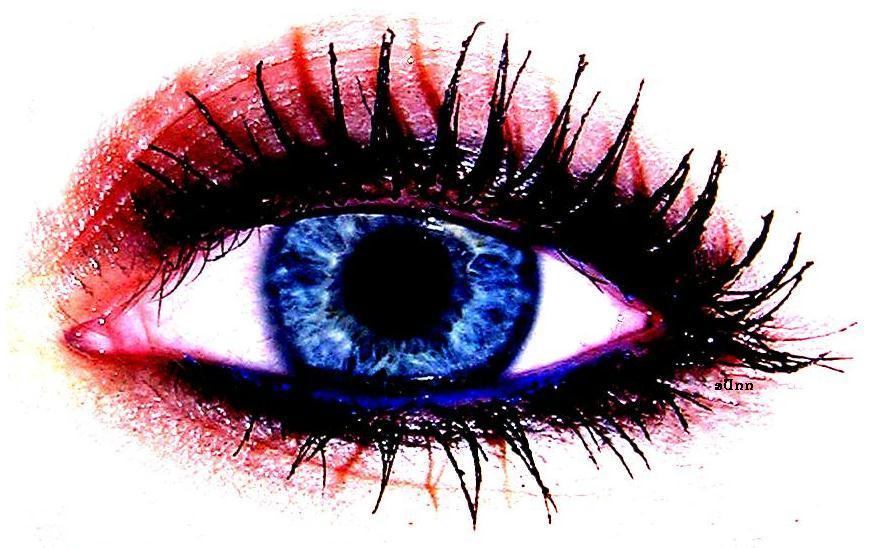 behind blue eyes.. ;)