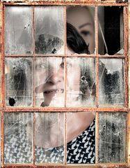 Behind broken glass ll *)