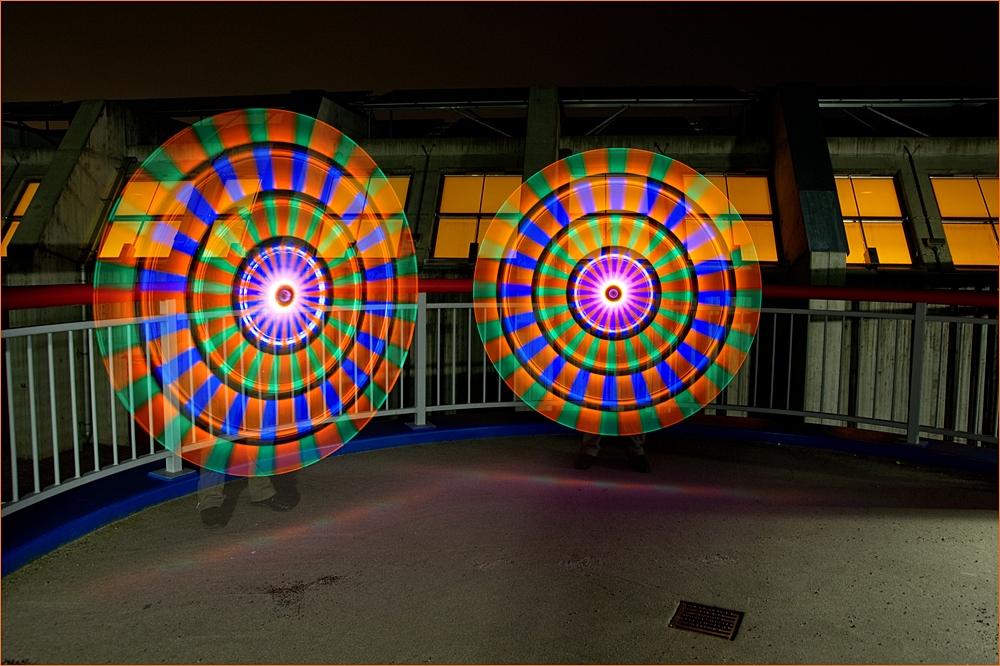 Behind the (Colour-Blinki) Wheels