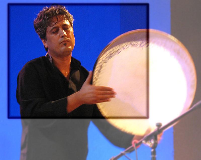 Behnam Samani spielt Daf