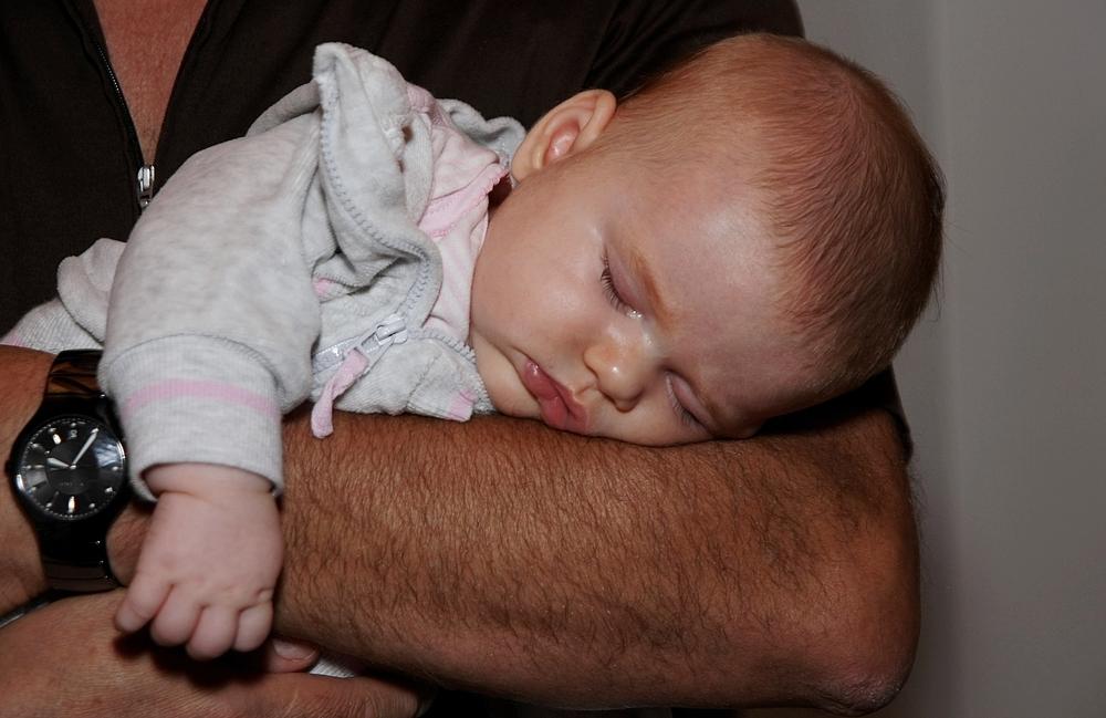 behütet - bei Opa ist gut schlafen