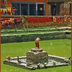 Bei den Färbern. Bhaktapur Nepal