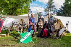 Bei den Ritterspielen Schlosspark Bad Bentheim