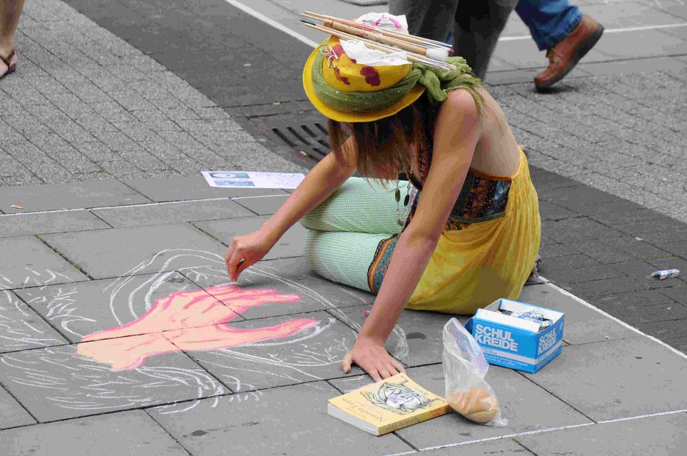 Bei den Strassenmalern in Geldern 09