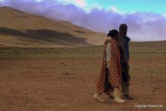 Bei einem Dorf in Lesotho