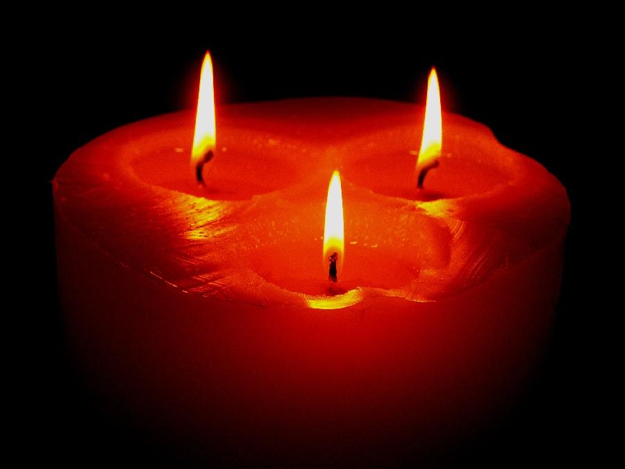 Bei Kerzenschein