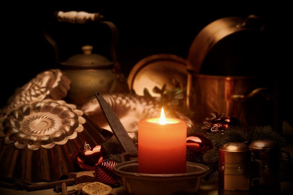 Bei Kerzenschein...