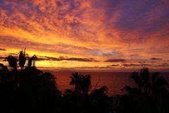 Bei Sonnenaufgang auf Madeira