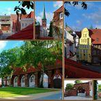 Beichthaus des Burgklosters und Umgebung