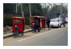 Beijing: Red Cabs