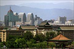Beijing - Vue de la Colline de Charbon