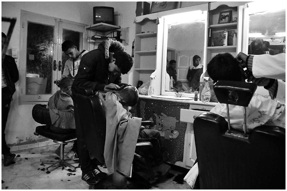 beim coiffeur