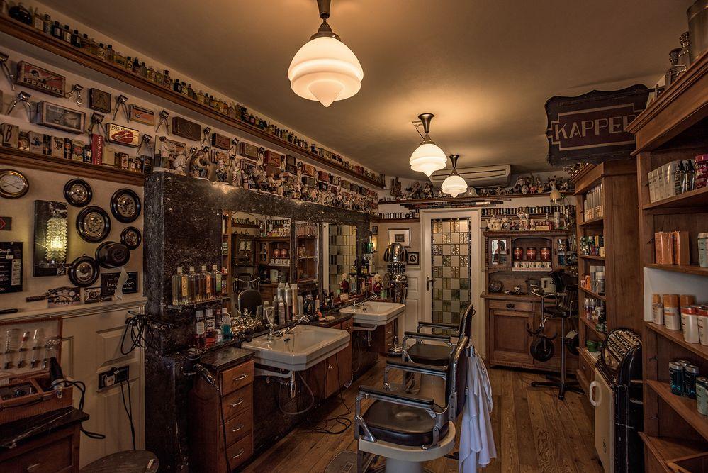 beim Friseur in Gouda
