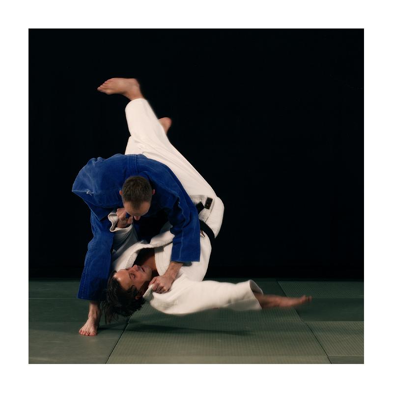 beim Judotraining in HG