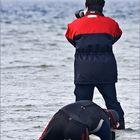 Beim Kitesurfing: Die Foto-Jäger