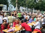 Beim Pfarrfrühschoppen in Litschau (2)