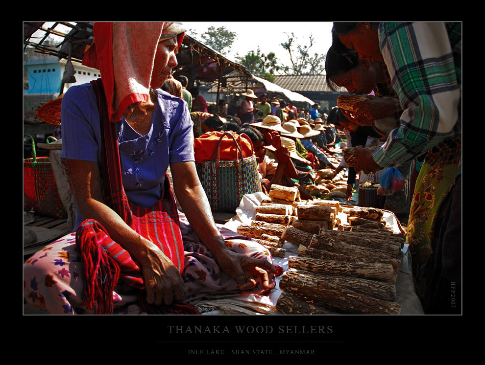 Beim prüfen des Thanaka...