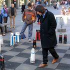 Beim Schachspiel