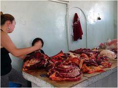 Beim Schlachter in Karakorum
