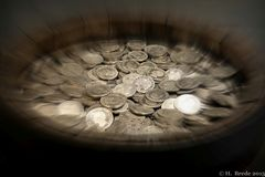 """Beim Shopping sollte man das nötige Kleingeld nicht vergessen, besonders am """"Black Friday"""""""