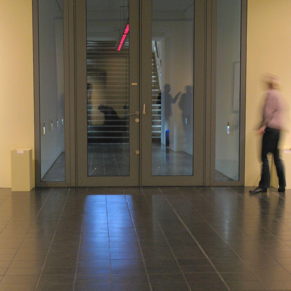 Beim Verlassen der <Galerie der ....