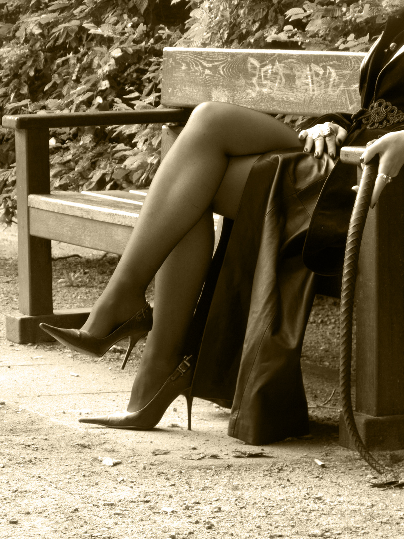 Beine im Stadtpark