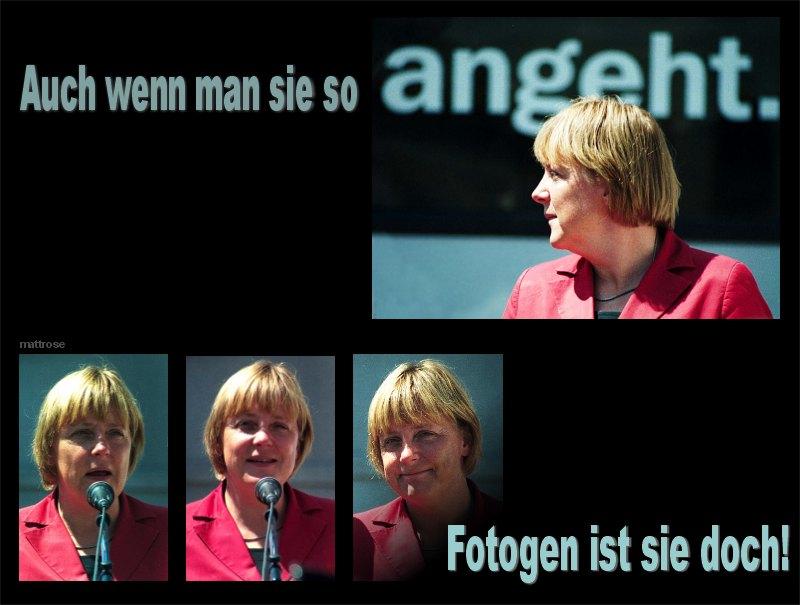 """""""Beistand"""" für Angela"""