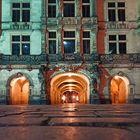 Beleuchteter Dreier Tunnel