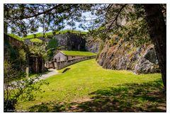 Belfort - Im Innern der Befestigungsanlage