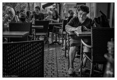 Belfort - Im Straßencafé