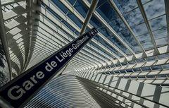 Belgien - Gare de Liège-Guillemins