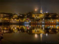 Belgrad bei Nacht 1 neu