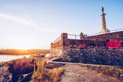Belgrad - Festung und Pobednik