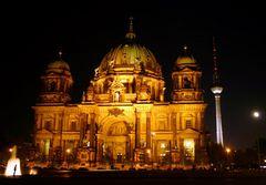 Belichtungsexperiment mit Berliner Dom