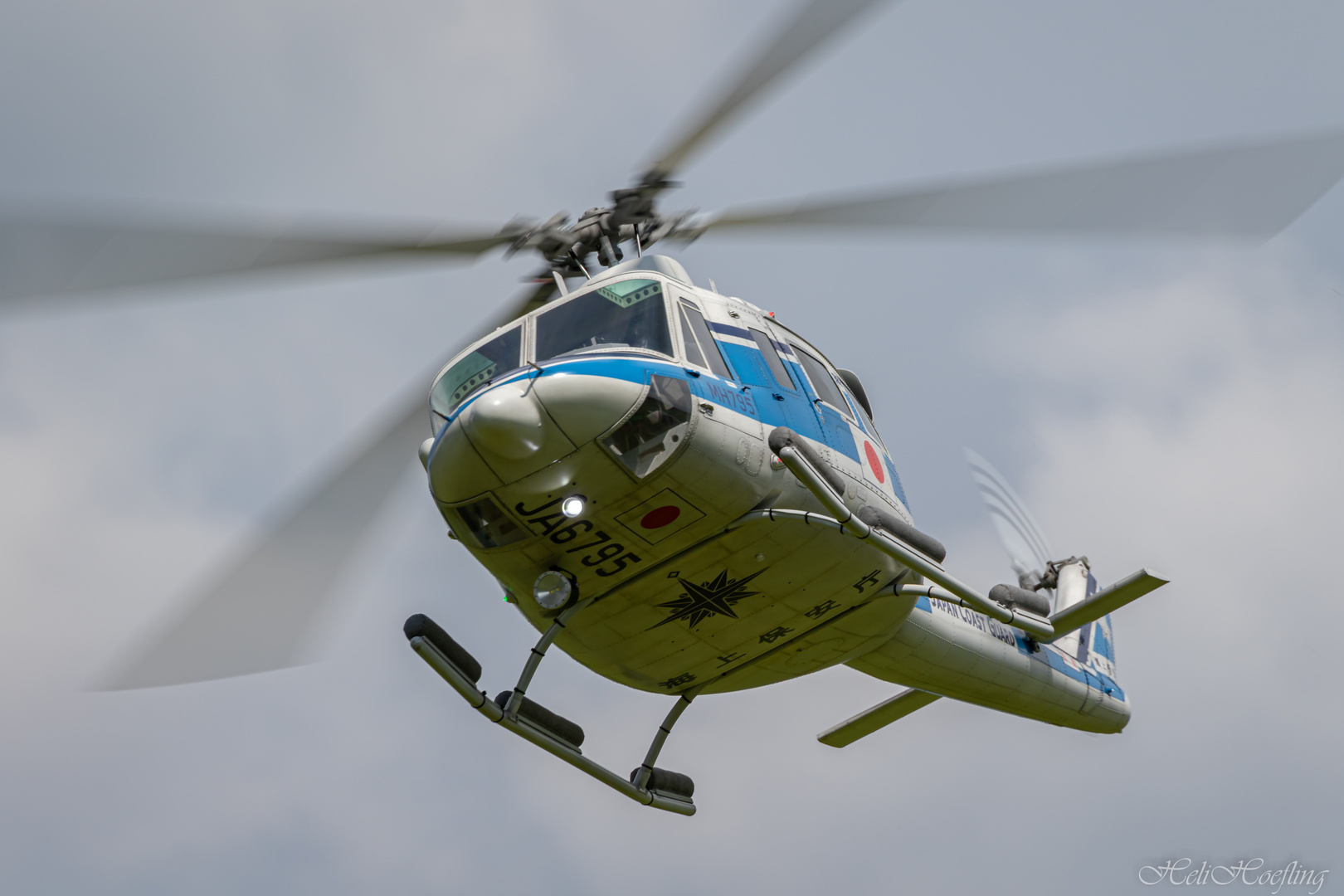 Bell 412 / UH-1Y Japan Coast Guard - Rc Scale Modell