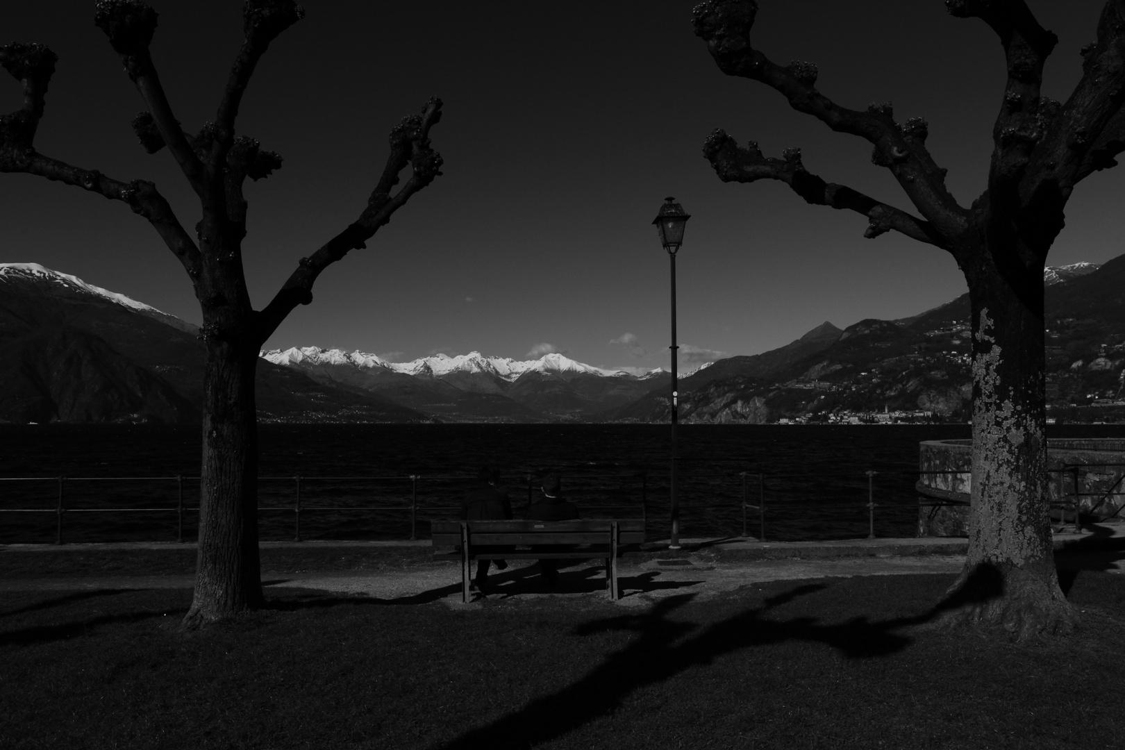 Bellagio - lago di como - spartivento