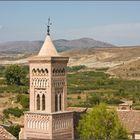 Belmonte de Gracian. Torre-campanario almohade