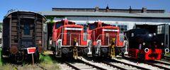 BEM Dieselloks 362 und 363